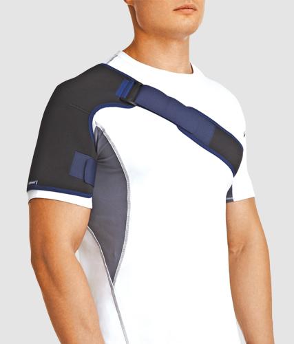 Бандаж orlett на плечевой сустав серии bioceramic силовые тренировки суставы запястья